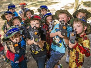 Laser tag is attracting shooters of all ages