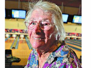 Mavis still bowling them over at 97