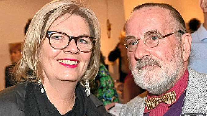Wendy McGrath and Chris Hardwick.
