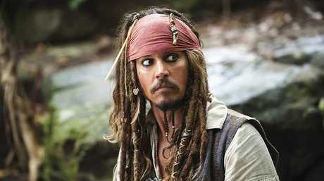 Johnny Depp's Captain Jack Sparrow