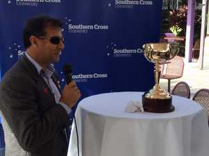 Winning jockey talks about the Melbourne Cup
