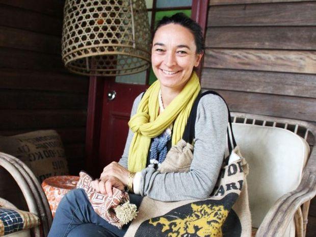 DESIGNING: Bangalow Designers Market exhibitor Francesca Rockette