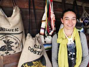 LOCAL TALENT: Clunes resident Francesca Rockette offers some fantastic up-cicled goods and crafts at Northern Rivers markets.