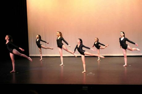 (from left) Mercedes Stiller, Elizabeth Hickey, Kimberley Smith, Honoka Murata, Hannah Clutterbuck and Julia Clutterbuck. Students from Toowoomba Physie and Dance compete at the Queensland titles. Photo Contributed
