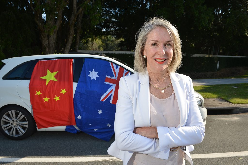 Maree Frecklington is disappointed with the comments made by Clive Palmer about China. Photo: Warren Lynam / Sunshine Coast Daily