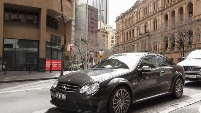 The 2008 Mercedes-Benz CLK 63 AMG Black Series.