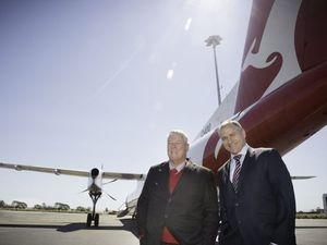 Thank you Skytrans and hello Qantas!