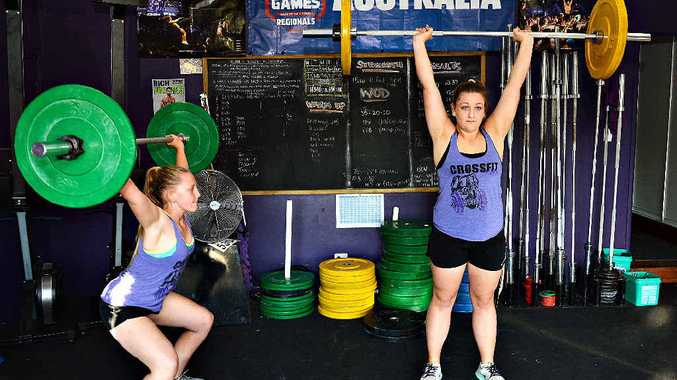 Imogen Price and her sister Lily are off to national weightlifting championships and want more girls to consider taking up the sport.