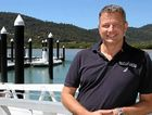 PART OF THE PICTURE: Port of Airlie general manager Andrew Forster is excited about welcoming Cruise Whitsundays to the Port of Airlie team and the benefits to the local community that this continued relationship will bring.