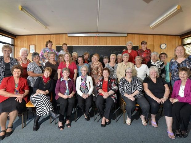 Reunion of former Lauriston Aged Care nurses. Photo Inga Williams / The Queensland Times