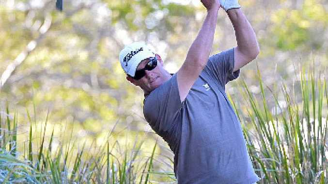 PLAYING DOWN HIS CHANCES: Three-time Headland Golf Club champion David Rattray is short of practice ahead of this year's edition.
