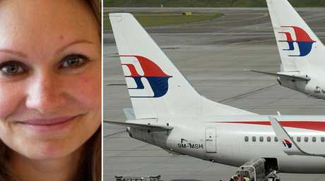Danica Weeks, the widow of a MH370 victim, says the promotion by the airline was atrocious