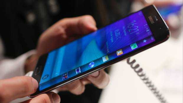 Samsung announced the Galaxy Note 4 with a whopping 5.7-inch display.