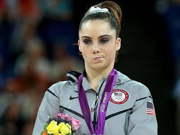 US gymnast McKayla Maroney