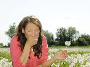 Spring is here and it's when hayfever can strike