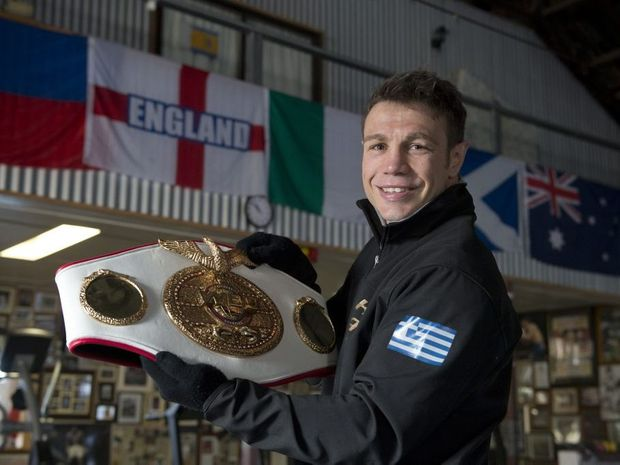 Toowoomba boxer and former world champion Michael Katsidis.
