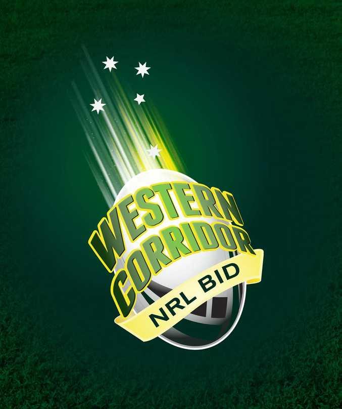 The Western Corridor NRL bid logo.