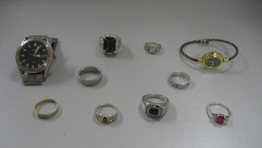 Police would like to locate the owners of a quantity of stolen jewellery which was recovered after the Gatton CIB charged a man with break and enter offences which occurred in Laidley and South Brisbane.