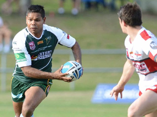 CLUB STALWART: Ipswich Jets centre Brendon Marshall hopes to postpone retirement at least a week with a win over Tweed Heads in tomorrow's elimination semi-final.