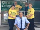 Clarence MP Chris Gulaptis accepts the ice bucket challenge and issues a few challenges of his own.