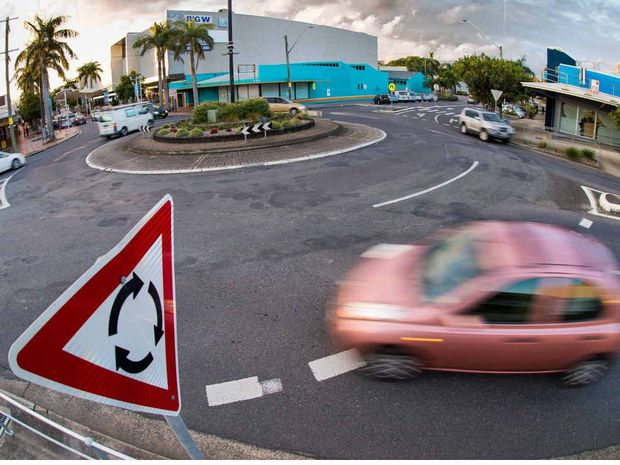 A ROUNDABOUT WAY TO DRIVE: Do you know the rules of the roundabout? It'll cost a lot if you hit the painted island.