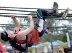 Spartan Race at Peak Crossing. Lewis Holland from Sydney. Photo: Kate Czerny / The Queensland Times