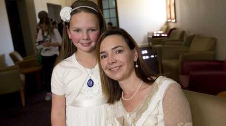 Zoe Crooke with mum Rachel Crooke.