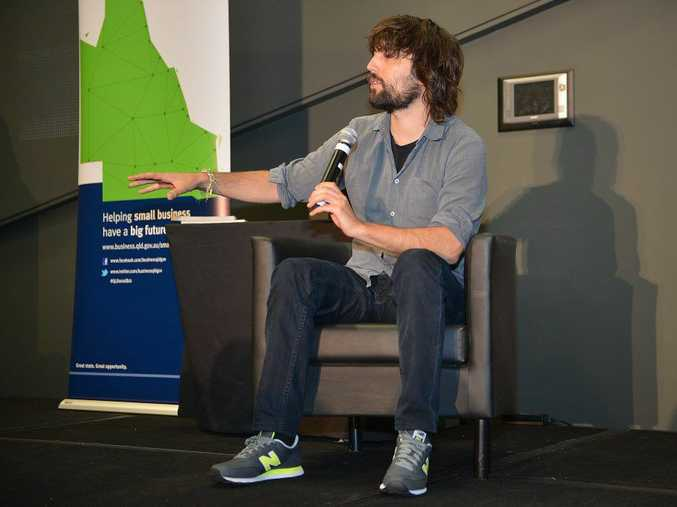Small Business Week at the Innovation Centre. Guest speaker Tom Szaky, CEO of TerraCycle.