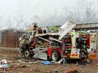Video reveals truck explosion devastation