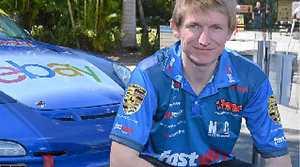Fastway Racing driver Simon Ellingham