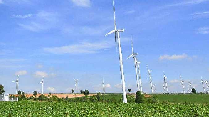 ENERGY IS ALL AROUND US: Wind Turbine Fields