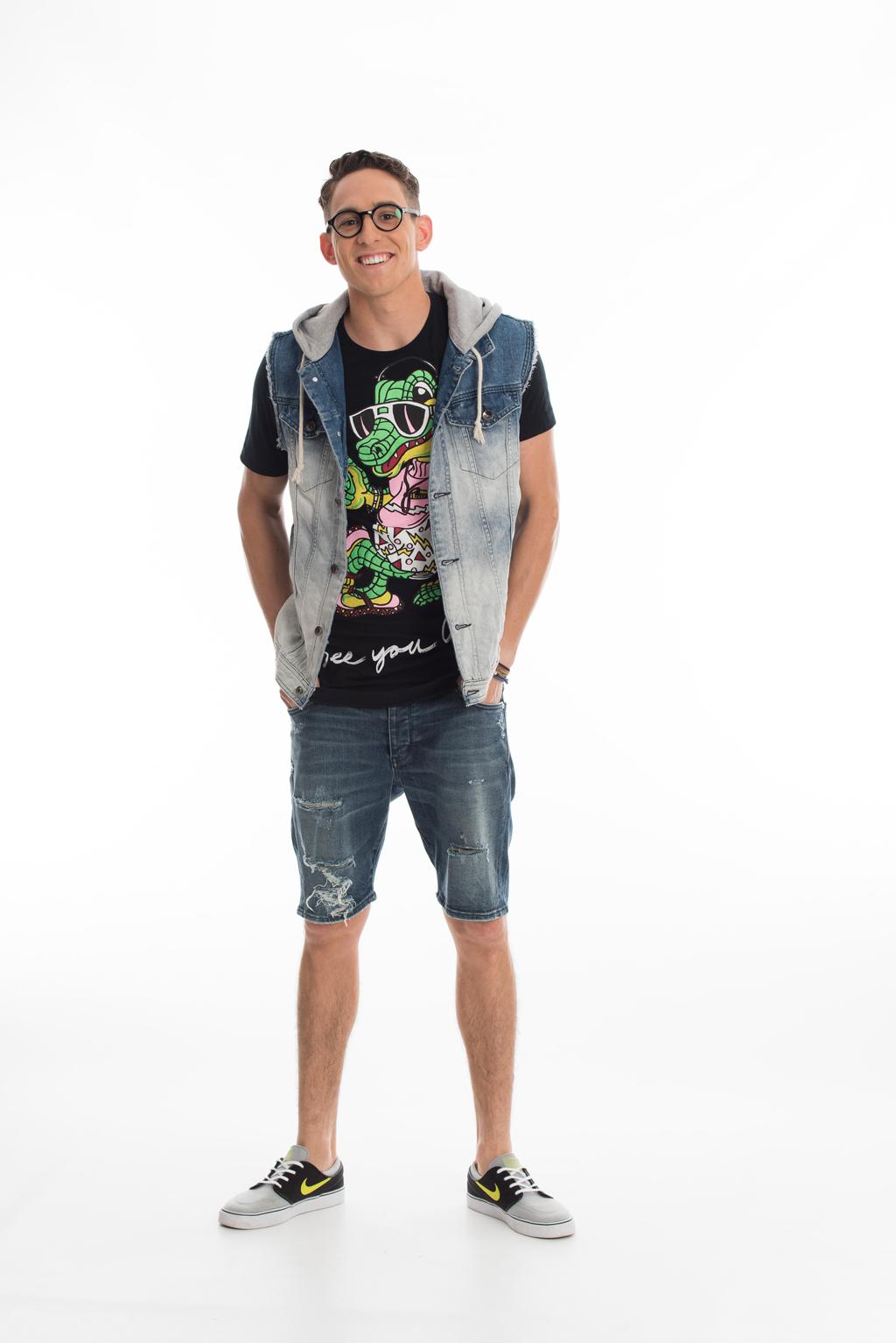 Brisbane university student Jake Richardson.