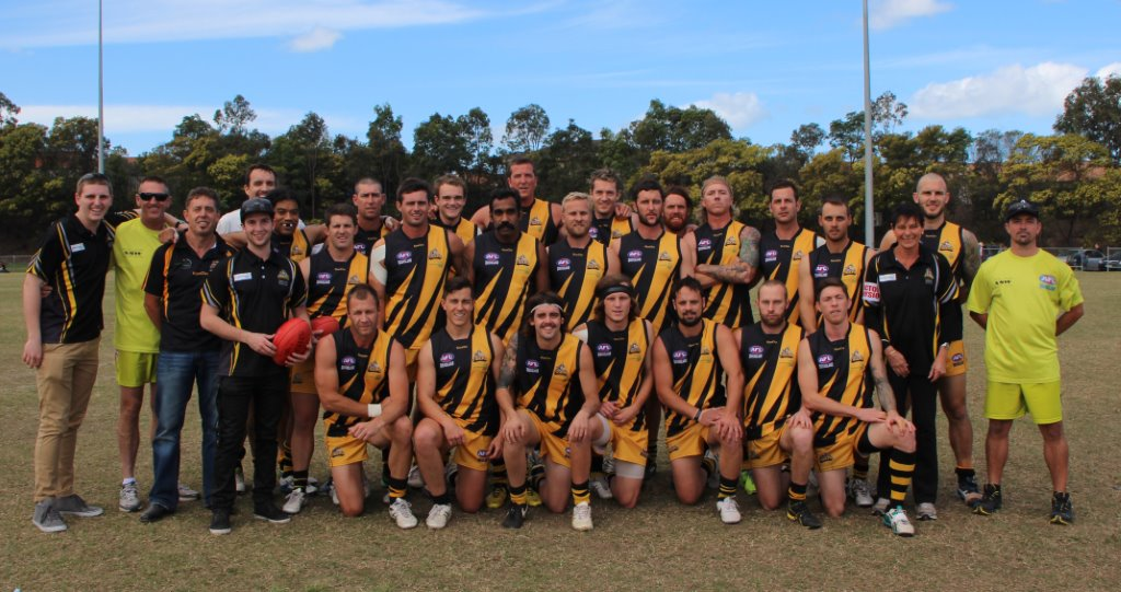 Sharks beat the Tweed Coast Tigers seniors, but all was not lost - reserve grade won their first grand final against the Lismore Swans.