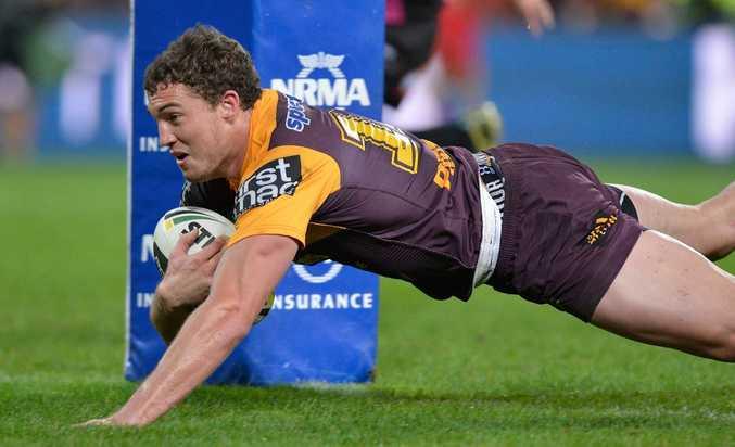 Corey Oates of the Brisbane Broncos.