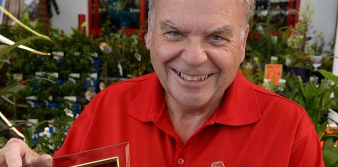 WINNER: Robert Ball from Bunnings Warehouse is a winner in the customer service awards. Photo: Mike Knott / NewsMail