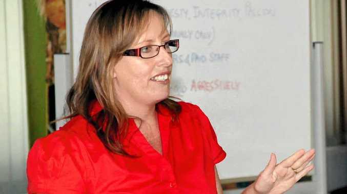 KEY ACTIVITY: Volunteering Queensland general manager Lana De Kort.
