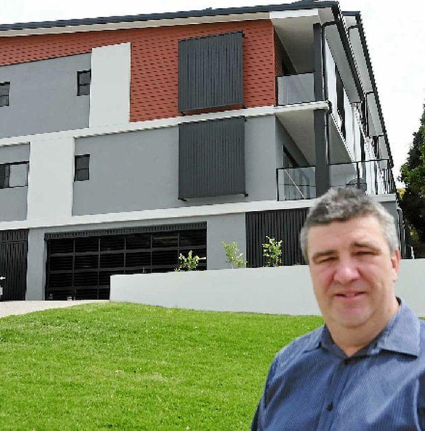NOT PANICKING: Real estate agent John Fieldus.