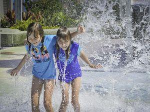 Gladstone kids are glad Splash Zone is back