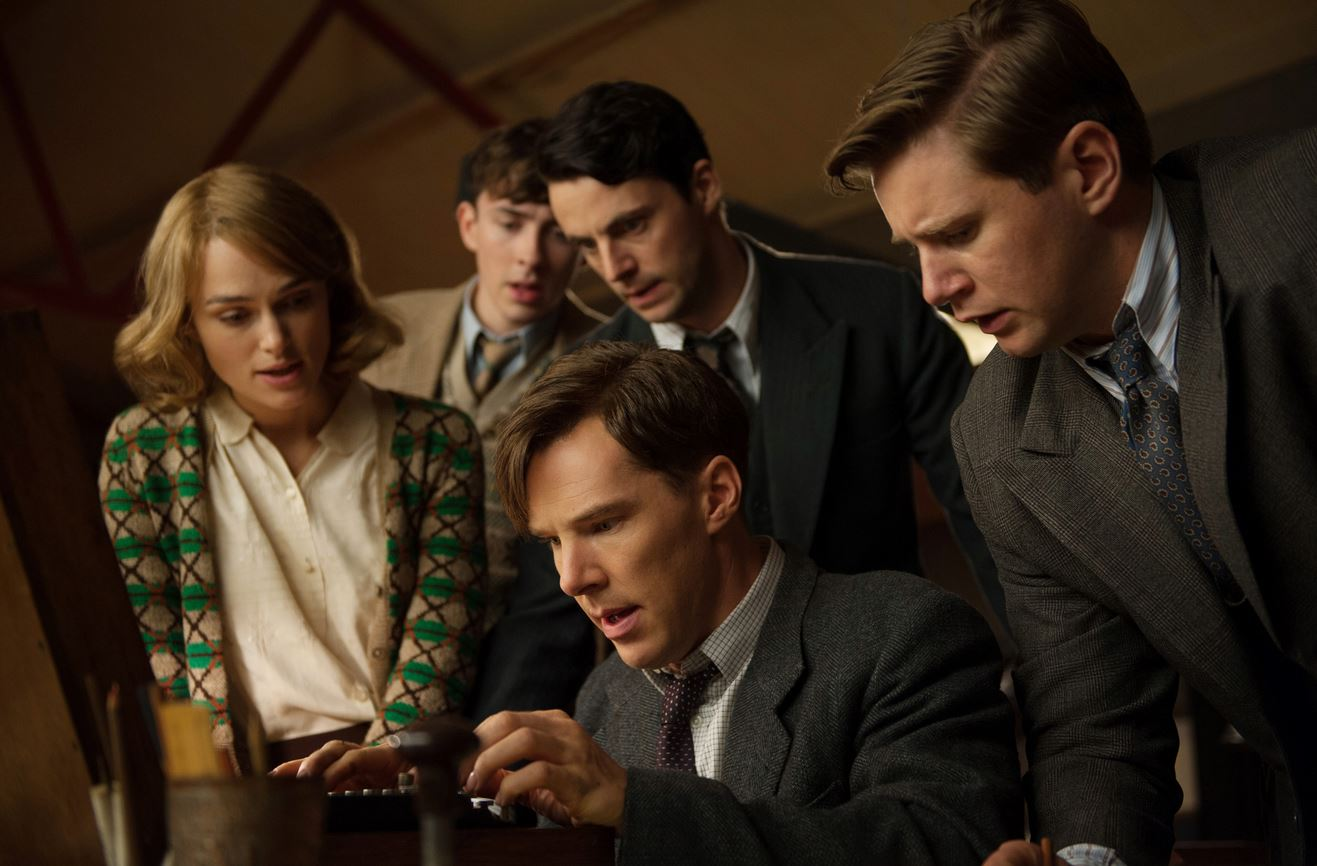 Benedict Cumberbatch played the mastermind Alan Turing behind the World War 2 Enigma story in film The Imitation Game.