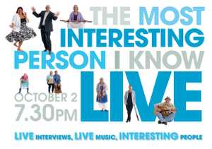 Celebrate the interesting people of the Coffs Coast.  Live interviews with local heroes, larrikins and thought leaders.  Film.  Live music.  Profits to CanDo!