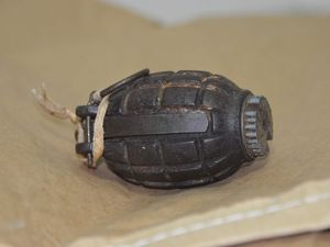 Situation clear as hand grenade disarmed