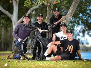 Meet KC and the Sunshine Coast band of ironman supporters