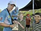 Kids have a blast with Qld cricket stars