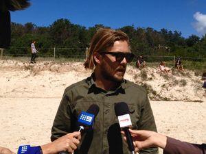Surf School head talks about shark attack