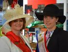 The Ekka 2014 QCL runner-up Emma Crozier and the QCL Showgirl Sophie Hughes.