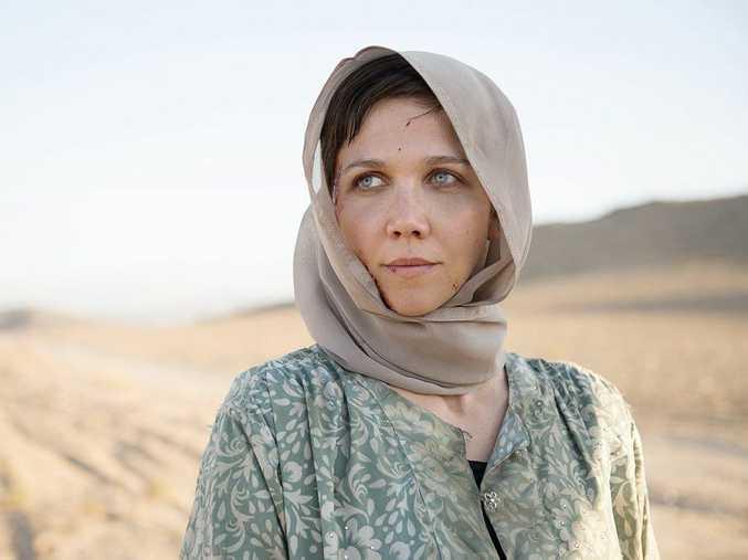 Maggie Gyllenhaal in The Honourable Woman.