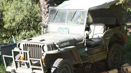 A Willys jeep will be one of the lots up for sale.