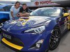 Mackay's biggest Cowboys fan decorates his car