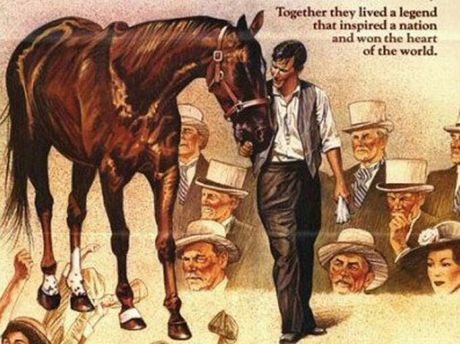 The poster for 1983 film Phar Lap