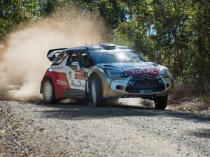 Nothing mild about Meeke at Rally Australia shakedown